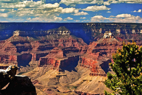 Painting - Sunset Grand Canyon by Bob and Nadine Johnston