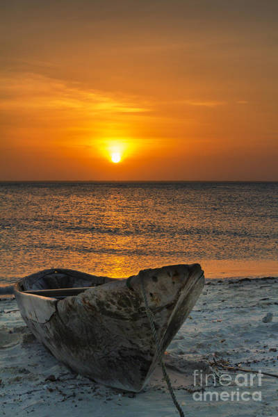 Sunset In Zanzibar - Kendwa Beach Art Print by Pier Giorgio Mariani