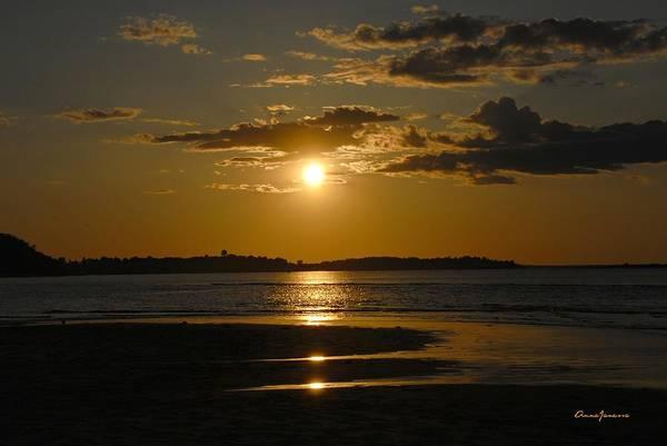 Art Print featuring the photograph Sunset On Crane Beach by AnnaJanessa PhotoArt