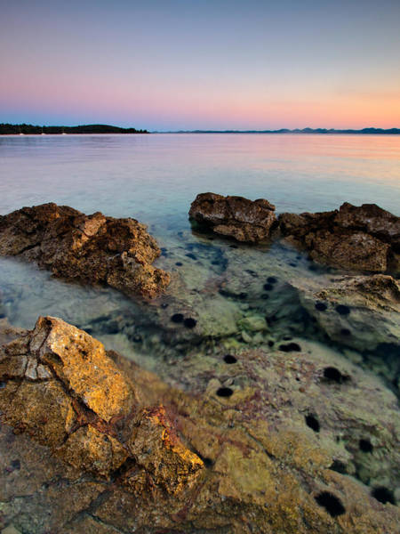 Adriatic Wall Art - Photograph - Sunset On The Beach by Davorin Mance