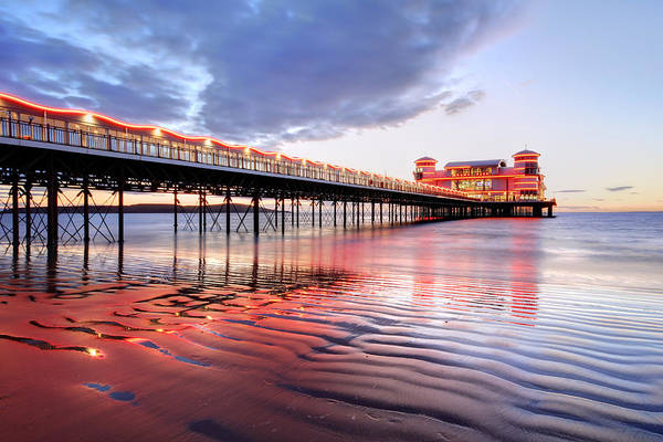 Weston Photograph - Grand Pier by Ollie Taylor
