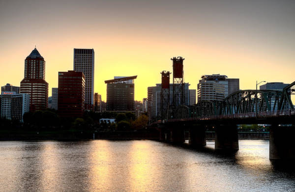 Wall Art - Photograph - Sunset Portland Oregon by Mark Duffy
