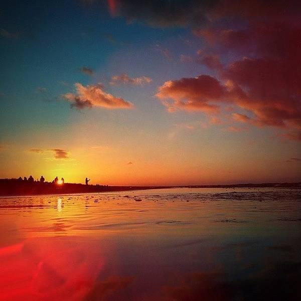 Beautiful Sunrise Wall Art - Photograph - Sunset by Raimond Klavins