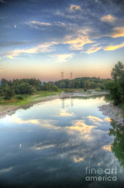 Washougal Photograph - Sunset Reflection by Matt  Davis