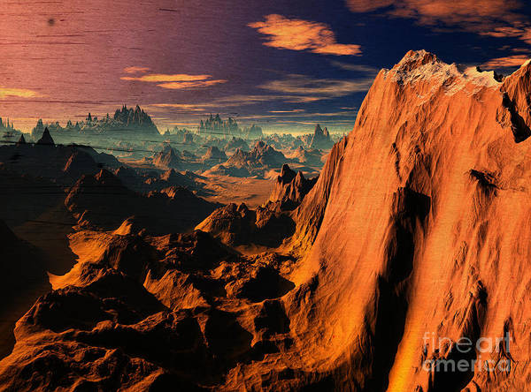 Wall Art - Digital Art - Sunsets In Arizona   by Heinz G Mielke