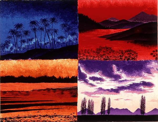 Painting - Sunsets by Karen Buford