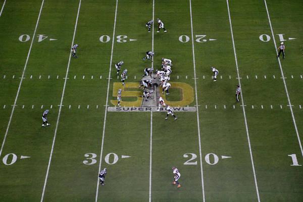 Super Sport Photograph - Super Bowl 50 - Carolina Panthers V by Ezra Shaw