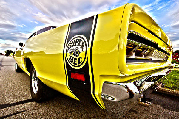 383 Photograph - Super Close Super Bee  by Gordon Dean II