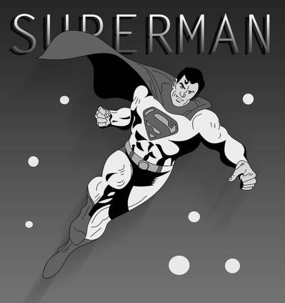 Pop Culture Painting - Superman  by Mark Ashkenazi