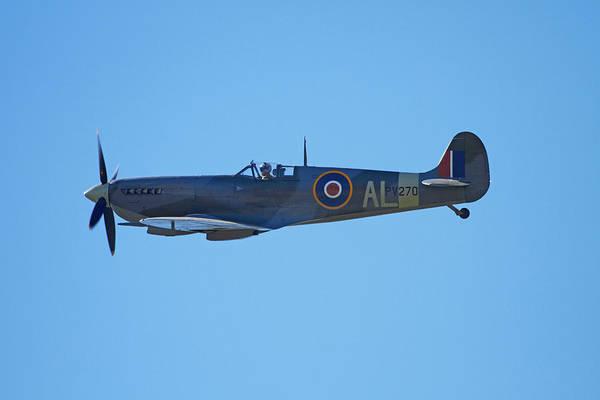 Airshow Photograph - Supermarine Spitfire  -  British by David Wall