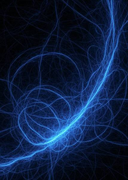 Entanglement Wall Art - Photograph - Superstrings Concept Illustration by David Parker/science Photo Library