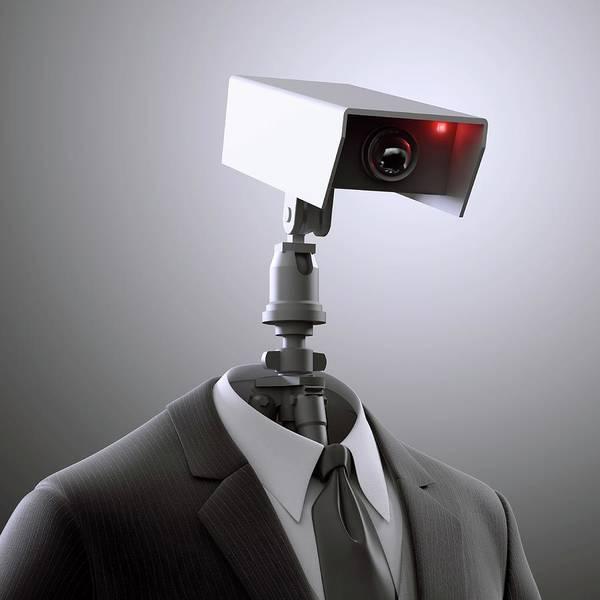 Surveillance Wall Art - Photograph - Surveillance by Andrzej Wojcicki/science Photo Library
