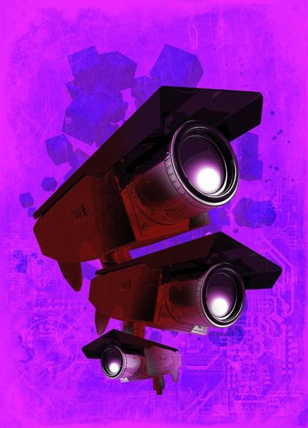 Wall Art - Photograph - Surveillance by Victor Habbick Visions/science Photo Library