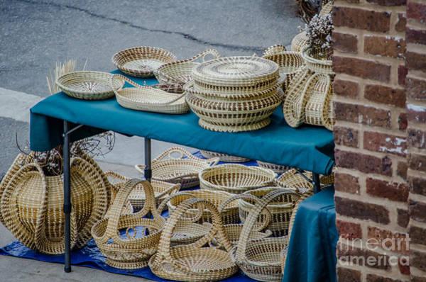Digital Art - Charleston Sweet Grass Baskets by Dale Powell