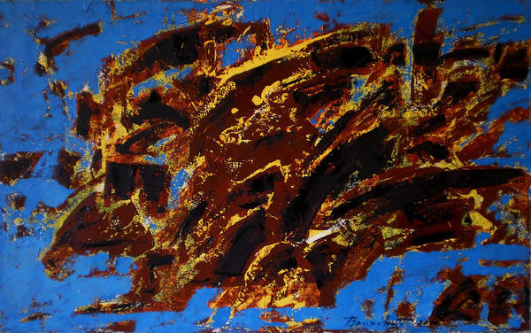 Wall Art - Painting - Symphony No. 8 Movement 20 Vladimir Vlahovic- Images Inspired By The Music Of Gustav Mahler by Vladimir Vlahovic
