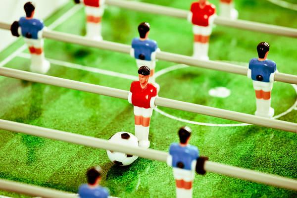 Amuse Photograph - Table Football by Tom Gowanlock