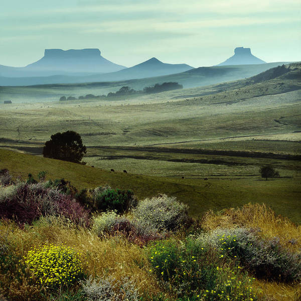 Wall Art - Photograph - Table Mountains In Kwazulu Natal by Per-Andre Hoffmann