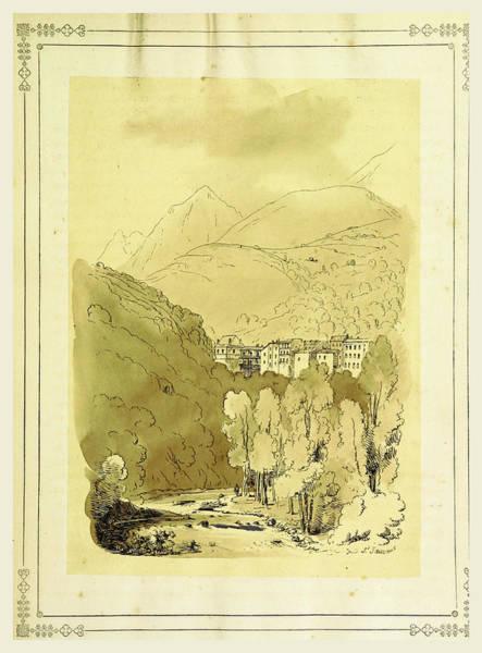 Tableau Pittoresque Des Pyrenees Francaises  Vallees Du Art Print