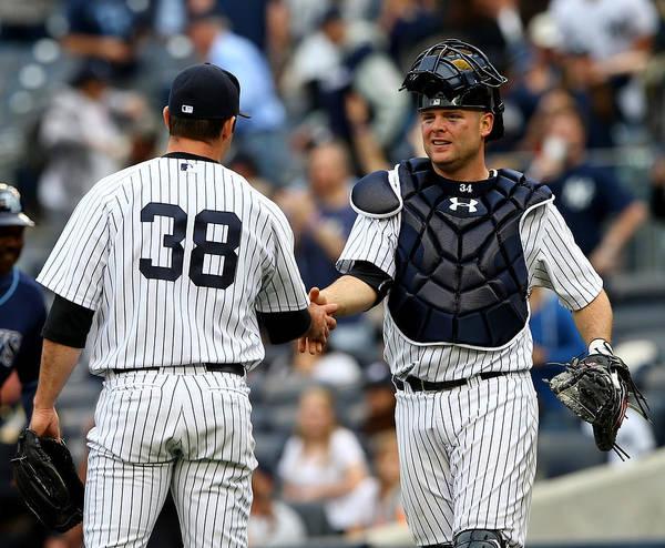 Yankee Stadium Photograph - Tampa Bay Rays V New York Yankees by Elsa