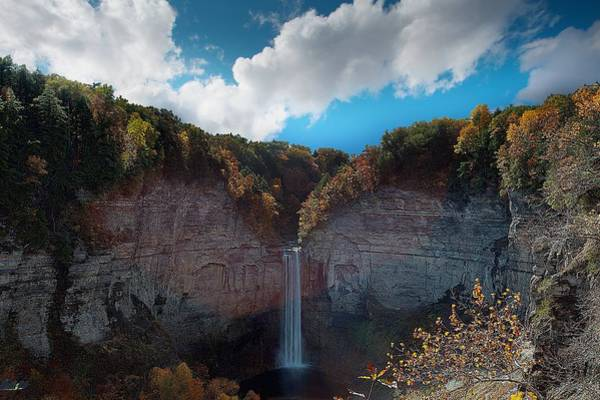 Wall Art - Photograph - Taughannock Falls Ithaca New York by Paul Ge