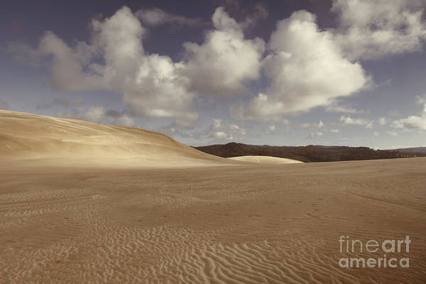 Wall Art - Photograph - Te Paki Giant Sand Dunes Northland New Zealand by Colin and Linda McKie