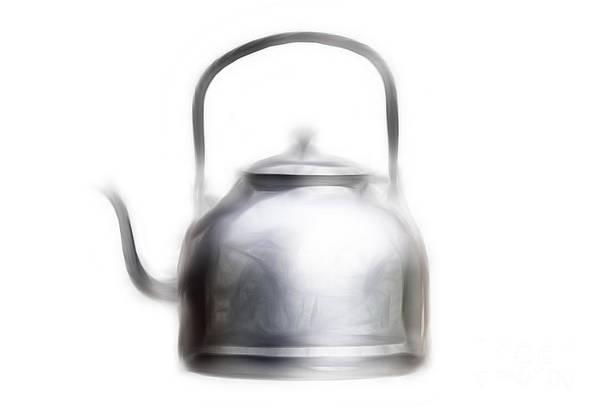 Spout Digital Art - Tea Pot by Michal Boubin