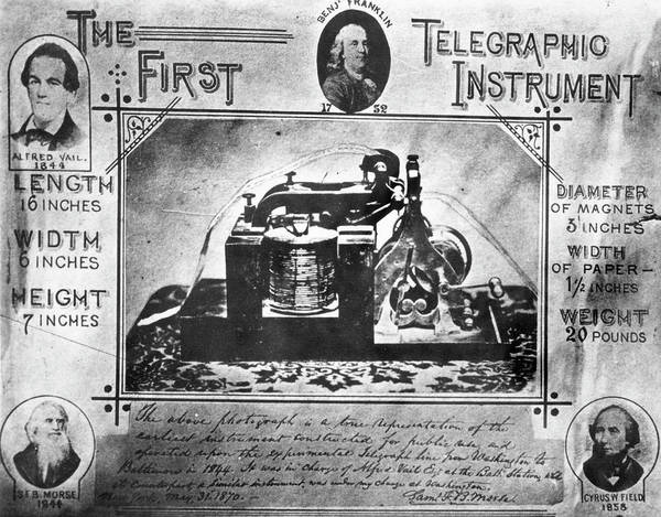 Wall Art - Painting - Telegraphy by Granger