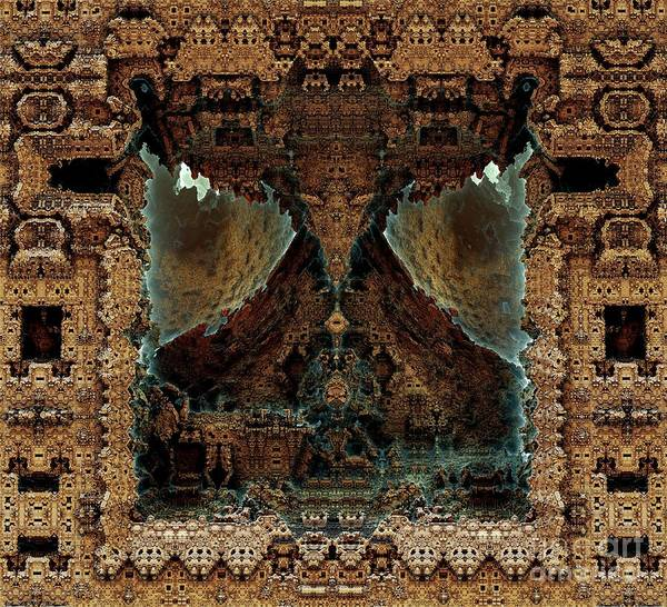 Temple Art Print by Bernard MICHEL