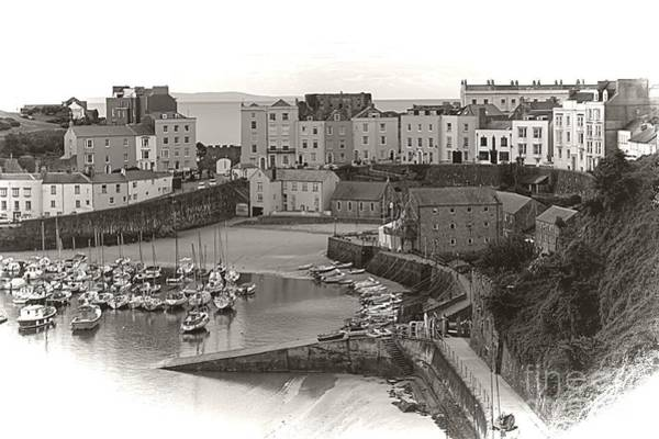 Photograph - Tenby Harbour In The Morning by Jeremy Hayden