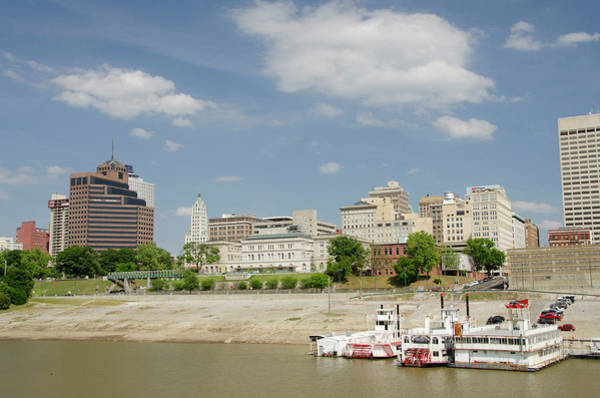 Paddle Boats Photograph - Tennessee, Memphis by Cindy Miller Hopkins