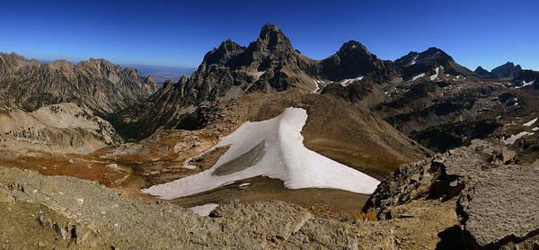 Photograph - Tetons From Table Mountain by Raymond Salani III