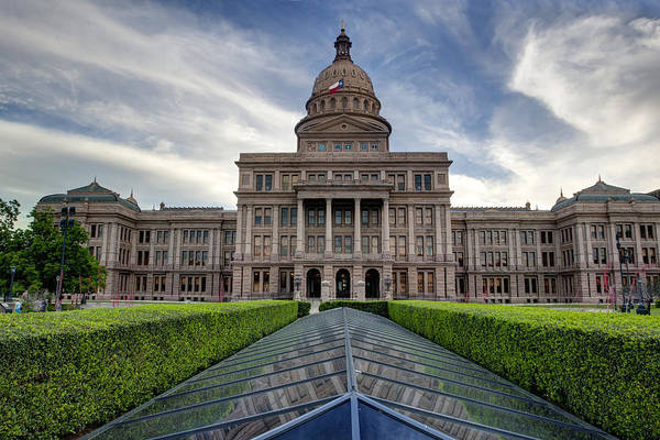 Capital Of Texas Wall Art - Photograph - Texas State Capitol 2 by Paul Huchton