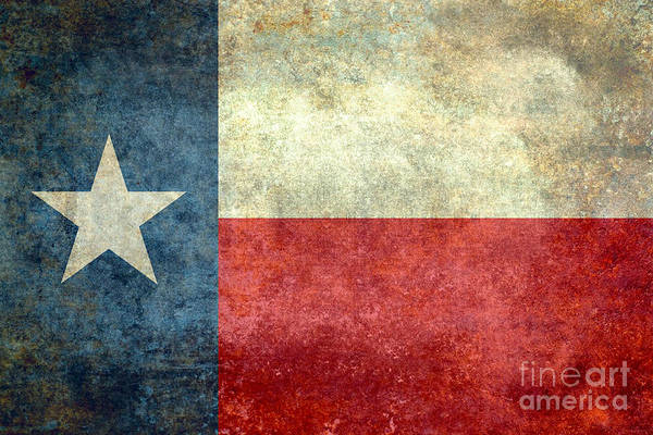 Wall Art - Digital Art - Texas The Lone Star State by Bruce Stanfield