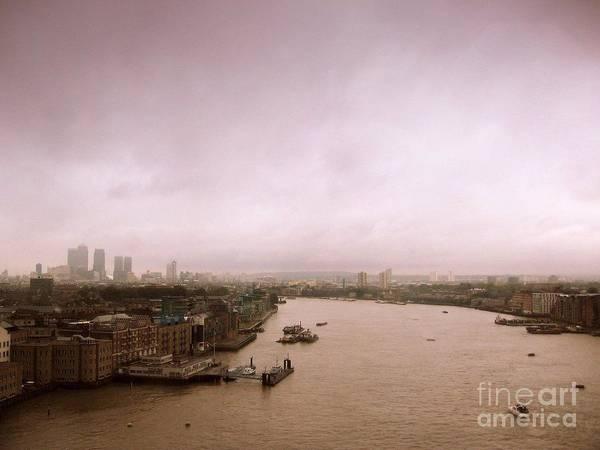 Thames Art Print