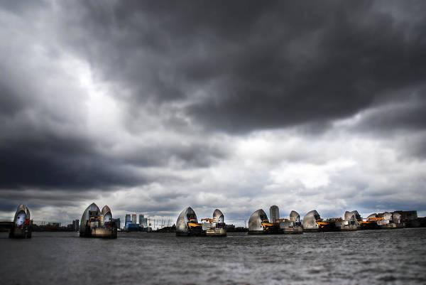 Wall Art - Photograph - Thames Barrier by Mark Rogan