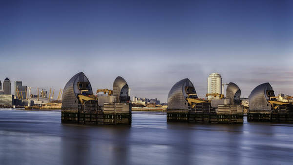 Barrier Photograph - Thames Barrier by Nigel Jones