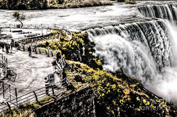 Photograph - The American Falls by Jim Lepard