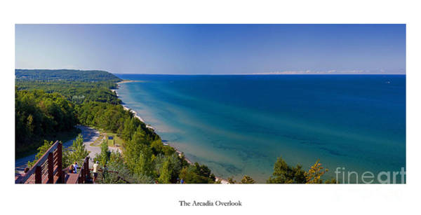 Northern Michigan Photograph - The Arcadia Overlook by Twenty Two North Photography