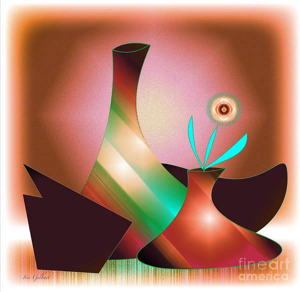 Jug Digital Art - The Arrangement 2 by Iris Gelbart