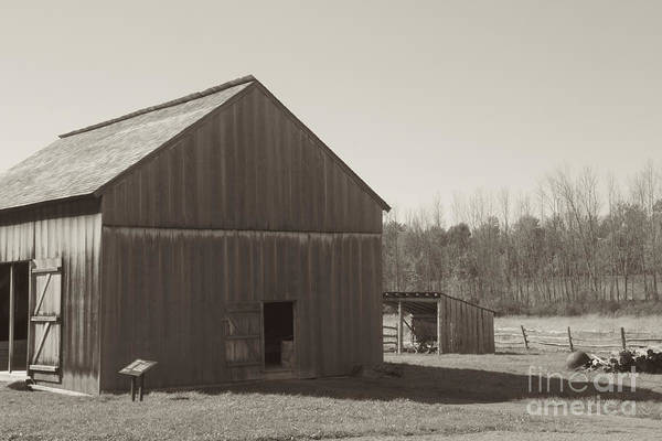 Photograph - The Barn by William Norton