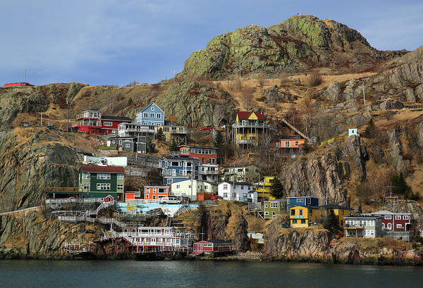 Wall Art - Photograph - The Battery, St John's, Newfoundland by Patrick J. Wall