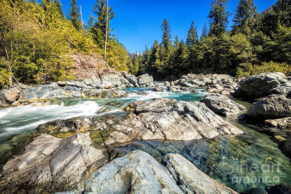 Photograph - The Bedwell River by Stuart Gordon