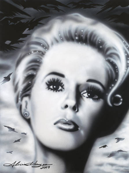 Leading Actress Wall Art - Painting - The Birds by Alicia Hayes