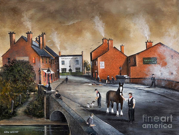 The Blackcountry Village Art Print