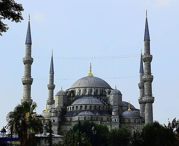 Sultan Ahmet Camii Wall Art - Photograph - The Blue Mosque Turkey by Nick Eagles