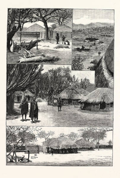 Wall Art - Drawing - The British South Africa Companys Expedition To Mashonaland by South African School