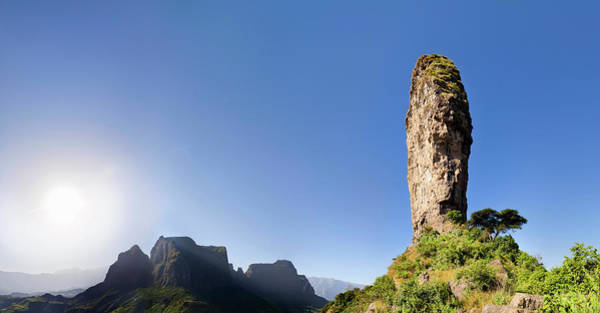 Amhara Photograph - The Buttes Of Mulit Near Semien by Martin Zwick