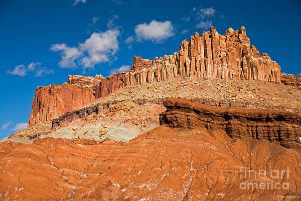 Photograph - The Castle Capitol Reef National Park by Fred Stearns