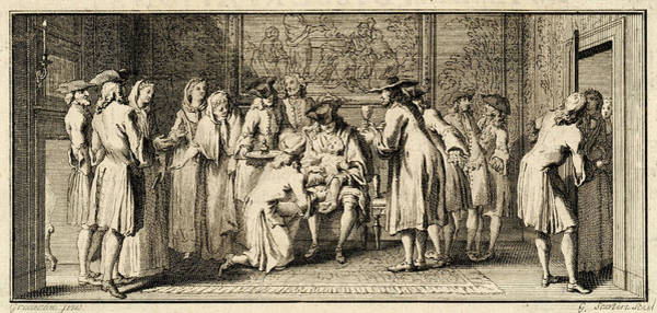 Wall Art - Drawing - The Circumcision Ceremony Of by Mary Evans Picture Library