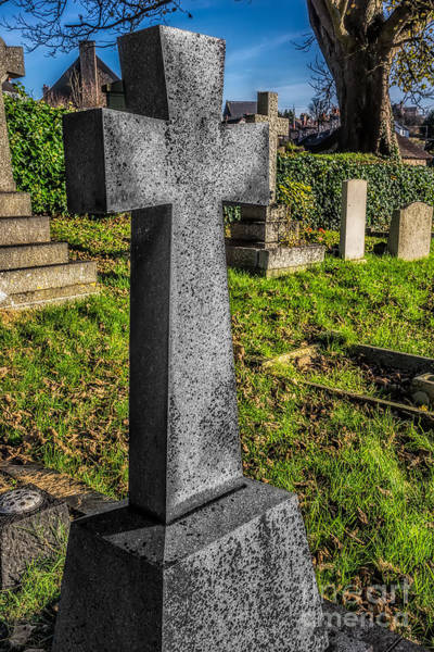 Burial Wall Art - Photograph - The Cross by Adrian Evans